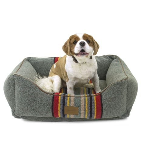 Pendleton Yakima Camp Heather Green Kuddler Dog Bed