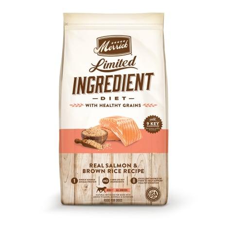 Merrick Limited Ingredient Diet Salmon & Brown Rice Recipe Dry Dog Food