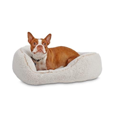 Harmony Cream Cozy Cuddler Dog Bed