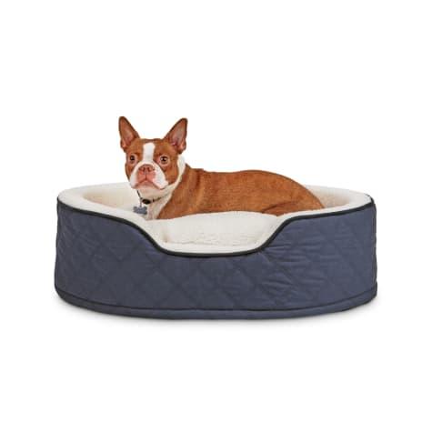 Harmony Blue Cuddler Orthopedic Dog Bed