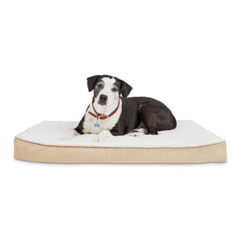 Harmony Khaki Lounger Orthopedic Dog Bed