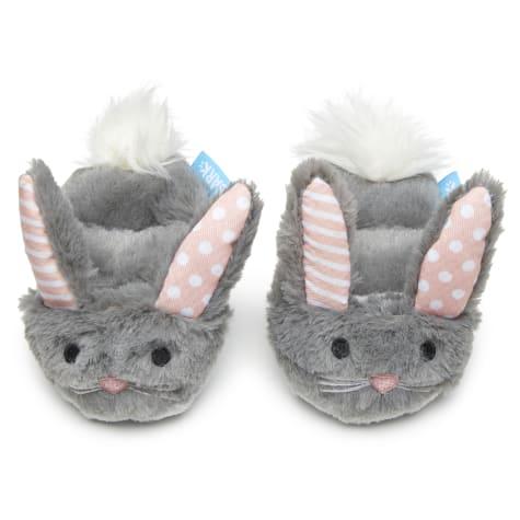 BARK Itty & Bitty Bunny Slippers Dog Toy