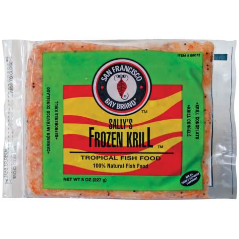San Francisco Bay Brand Frozen Krill Flat Pack