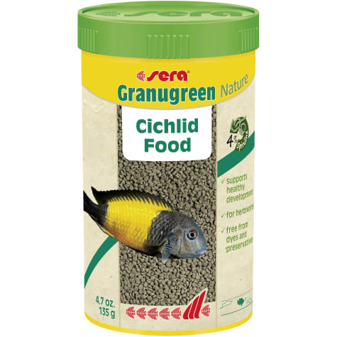 Sera Granugreen Nature Cichlid Food