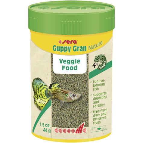 Sera Guppy Gran Nature Food