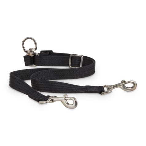 Good2Go Black Adjustable Leash Coupler for Dogs