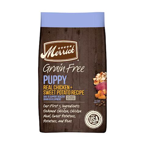 Merrick Grain Free Real Chicken & Sweet Potato Recipe Dry Puppy Food