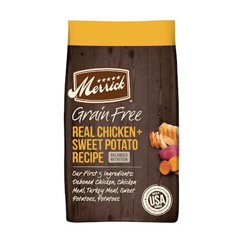 Merrick Grain Free Real Chicken + Sweet Potato Dry Dog Food