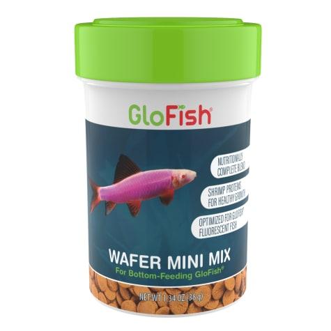 GloFish Wafer Mini Mix Bottom-Feeding Fish Food