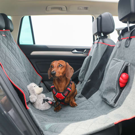 KONG 2-In-1 Car Bench Seat Cover and Hammock for Dogs