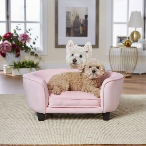 Enchanted Home Pet Pink Coco Pet Sofa
