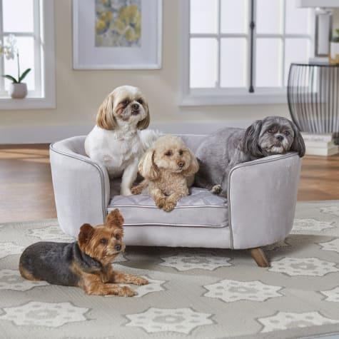 Enchanted Home Pet Quicksilver Pet Sofa
