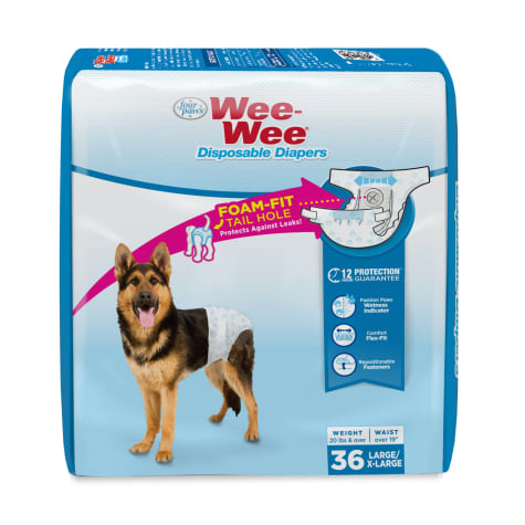 Wee-Wee Disposable Diapers for Dogs