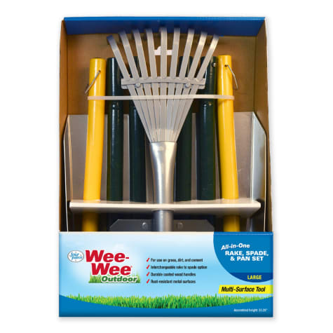 Wee-wee All-In-One Rake, Spade & Pan Set for Dogs