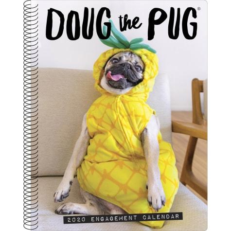 Willow Creek Press Doug The Pug 2020 Engagement Calendar