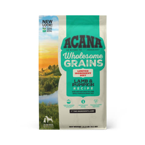 ACANA Wholesome Grains Lamb & Pumpkin Dry Dog Food