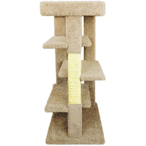 New Cat Condos 4 level Tan Cat Tree