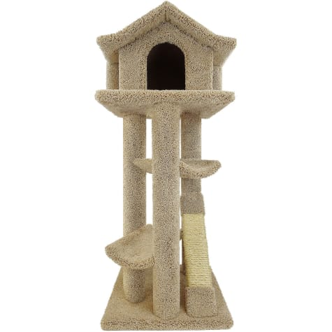 New Cat Condos Premier Tan Cat Pagodas Tree