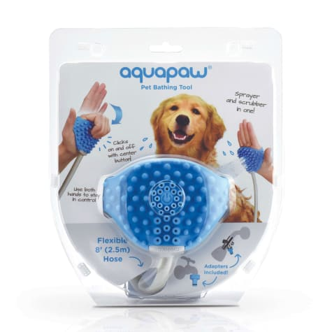 Aquapaw Shower Sprayer Scrubber Pet Bathing Tool