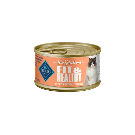 Blue Buffalo True Solutions Fit & Healthy Chicken Recipe Natural Weight Control Adult Wet Cat Food