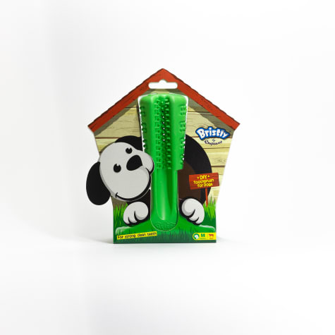 Bristly Empawer Pets Rubber Tooth Brush for Dogs