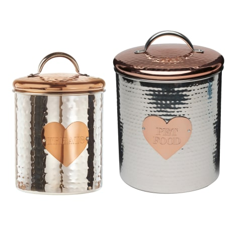 Amici Home Rosie Pet Food Canisters