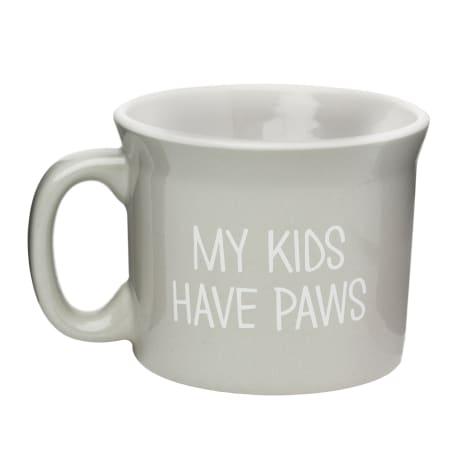 Amici Home My Kids Have Paws Ceramic Coffe Mug