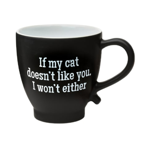 Amici Home If My Cat Doesn'T Like You Ceramic Coffe Mug