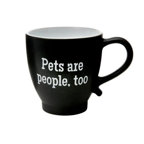 Amici Home Pets Are People Too Ceramic Coffe Mug
