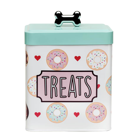 Amici Home Barkers Dozen Treats Canister for Pets