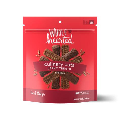 WholeHearted Culinary Cuts Beef Recipe Jerky Dog Treats