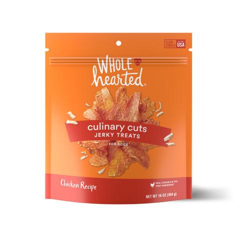 WholeHearted Culinary Cuts Chicken Recipe Jerky Dog Treats