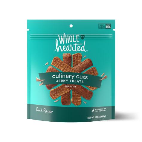 WholeHearted Culinary Cuts Duck Recipe Jerky Dog Treats
