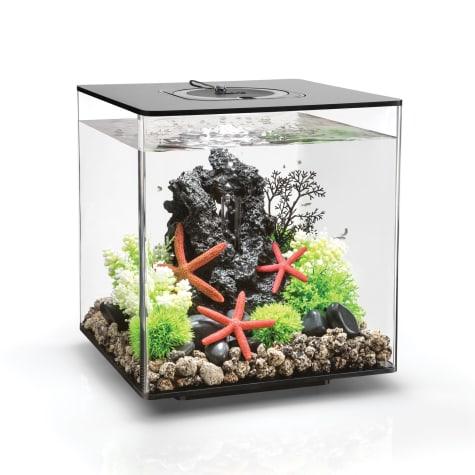 biOrb Cube Black Aquarium With Micro Light