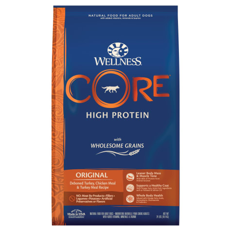 Wellness CORE Wholesome Grains Original Turkey Recipe Dry Dog Food