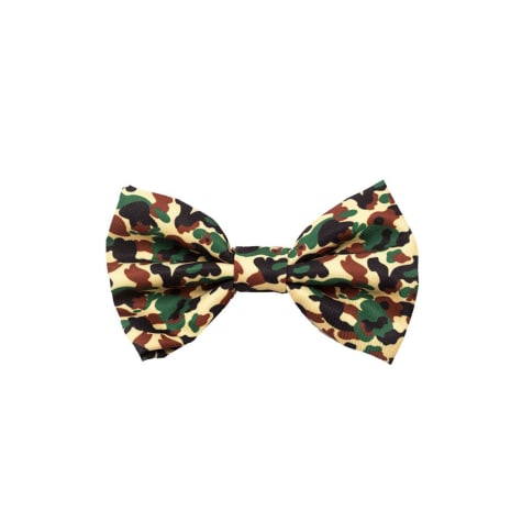 Fresh Pawz The Hype Camo Dog Bowtie