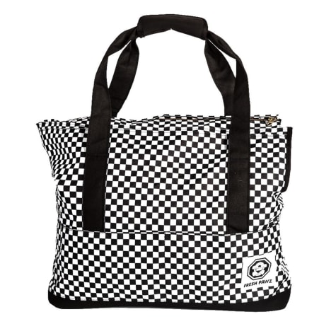 Fresh Pawz The Checkerboard Dog Carrier Bag