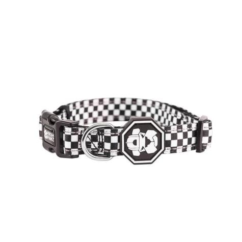Fresh Pawz The Checkerboard Dog Collar