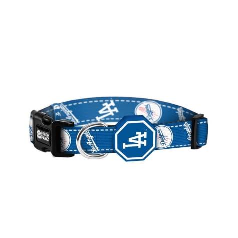 Fresh Pawz X MLB Los Angeles Dodgers Dog Collar