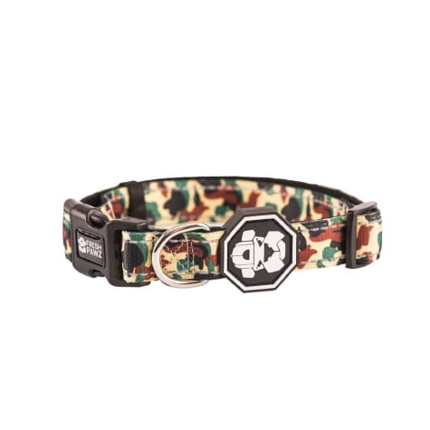 Fresh Pawz The Hype Camo Dog Collar
