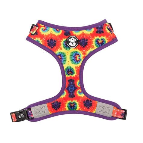 Fresh Pawz The Tie-Dye Adjusable Mesh Dog Harness
