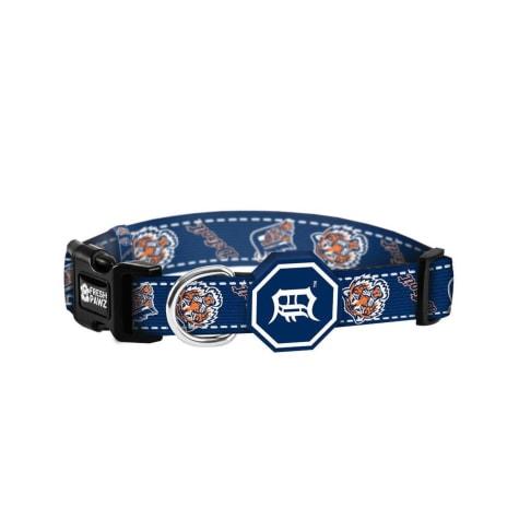 Fresh Pawz X MLB Detroit Tigers Dog Collar