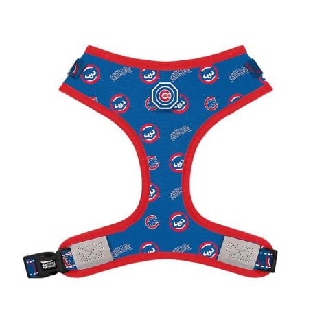 Fresh Pawz X MLB Chicago Cubs Adjustable Mesh Dog Harness