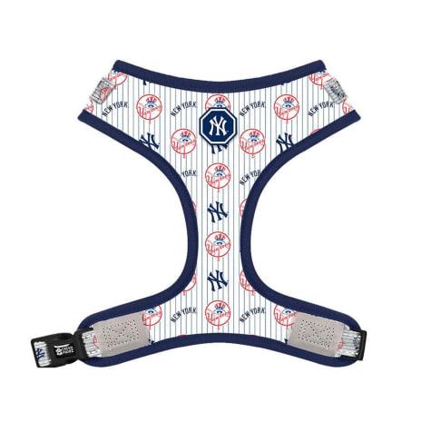 Fresh Pawz X MLB New York Yankees Adjustable Mesh Dog Harness