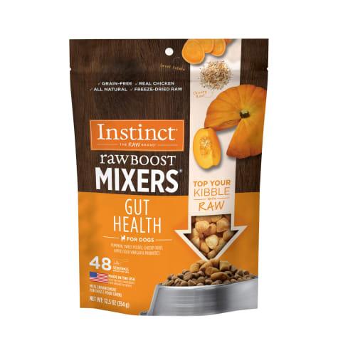 Instinct Freeze-Dried Raw Boost Mixers Grain-Free Gut Health Recipe Dog Food Topper