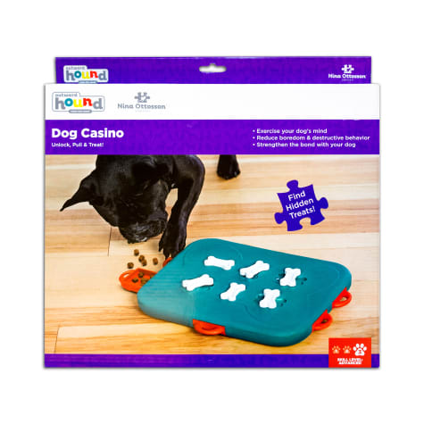 Outward Hound Casino Puzzle Dog Toy