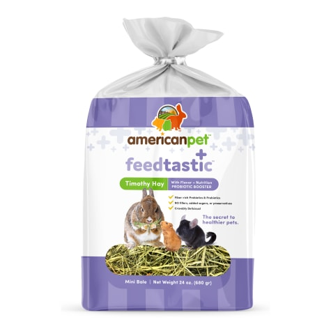 American Pet Feedtastic Timothy Hay with Prebiotic Booster Dry Food