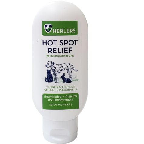 HEALERS Natural Anti Itch Hot Spot Relief for Pets