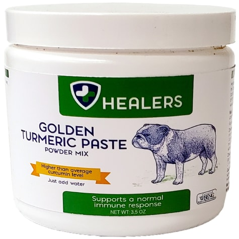 HEALERS Turmeric Golden Paste Mix for Pets