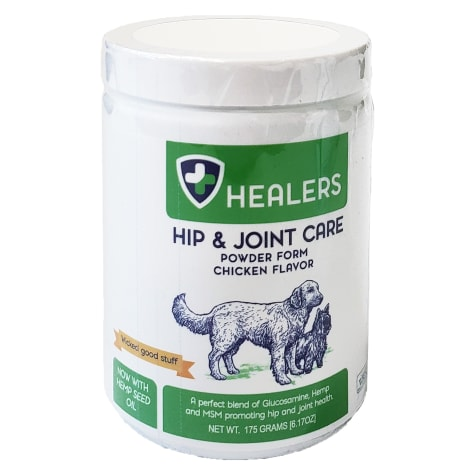 HEALERS Hip and Joint Health Supplement Powder for Dogs